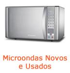 Microondas novos e usados